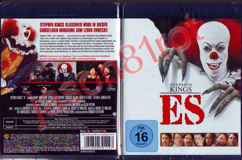 Stephen Kings ES / Blu Ray NEU OVP uncut