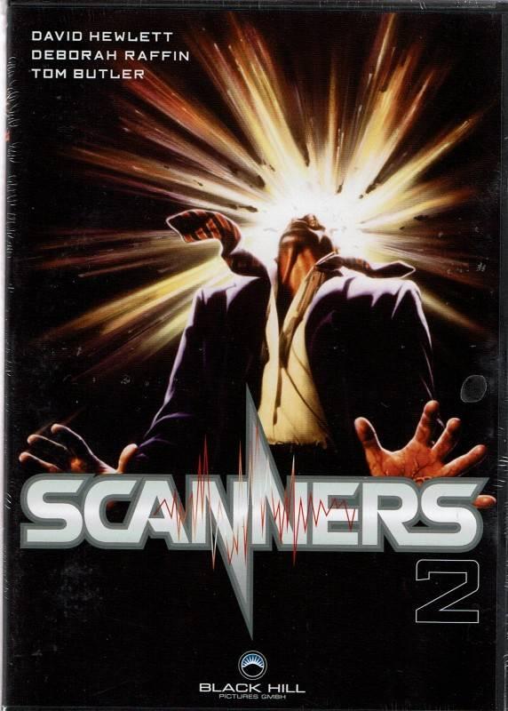 Scanners 2 - Deborah Raffin, David Hewlett - DVD