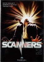 Scanners 2 - Deborah Raffin, David Hewlett - DVD