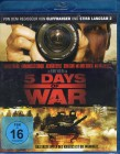 5 DAYS OF WAR Blu-ray Top Krieg Action Thriller Renny Harlin
