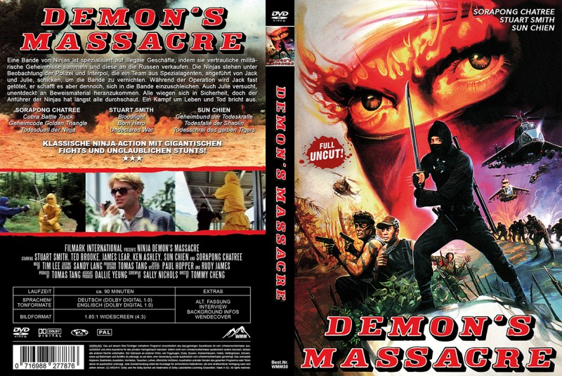Ninja Demons Massacre (Amaray) NEU ab 1€
