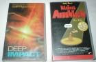 DEEP IMPACT + KLEINES ARSCHLOCH - 2 VHS Kassetten