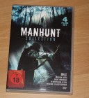 Manhunt Collection - 2 DVD Set und 4 Filmen
