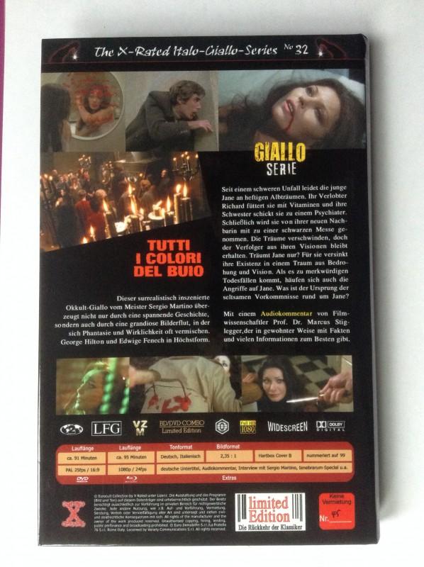 Blu-ray Die Farben der Nacht Hartbox