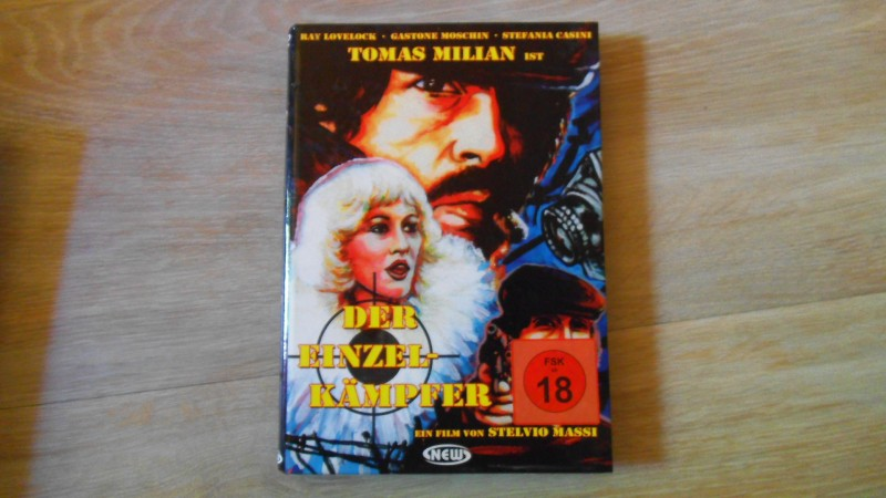 Der Einzelkämpfer (Tomas Milian  New Entertainment Hartbox