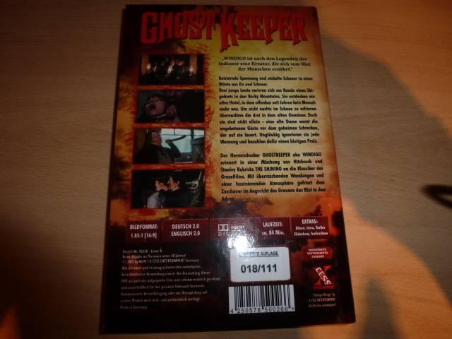DVD-Raritäten (Die Todesbucht Mediabook, Ghostkeeper lim.