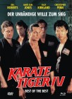 Mediabook Best of the Best 1 Karate Tiger 4 Blu-ray DVD   B