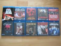 10er Blu-Ray-Paket - Evil Dead / Inferno / Dressed to Kill