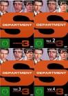 3x Department S - Volume 1-4  - 4 DVDs im Set