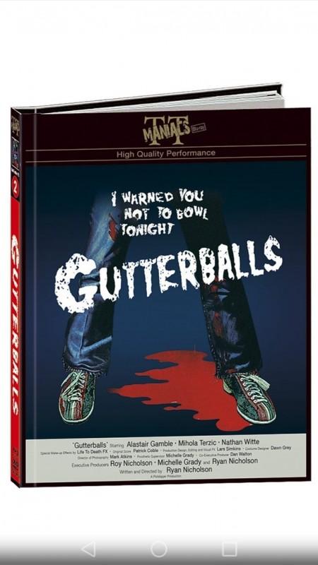 Gutterballs - DVD/BR Mediabook - Cover D - Neu + OVP