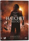 HATCHET 1-3 TRILOGY BLU RAY MEDIABOOK UNCUT LIMITED EDITION