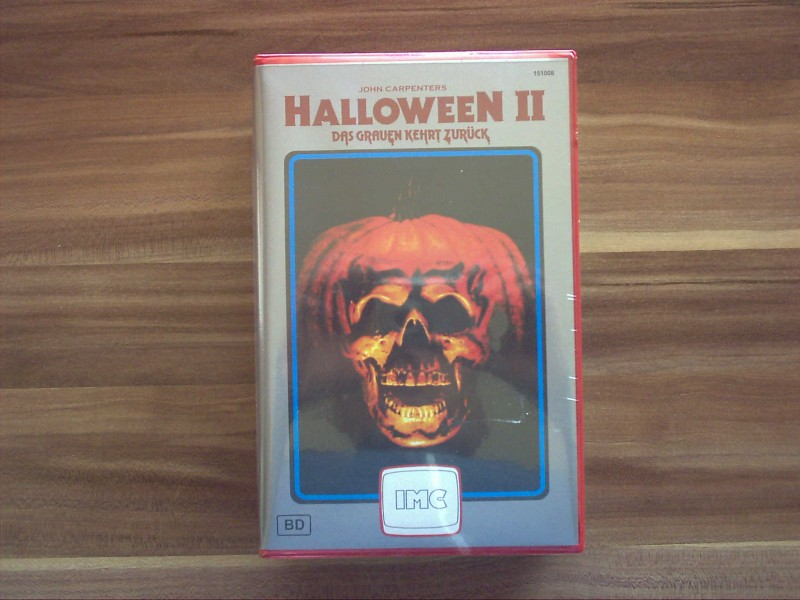 Redbox Nr.8 Halloween 2 IMC Red VHS Retro uncut Bavaria