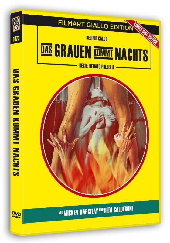 Das Grauen kommt nachts - Filmart Giallo Edition DVD