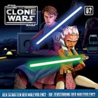Star Wars: Clone Wars #02, Hörspiel (2 Folgen), neu/ovp