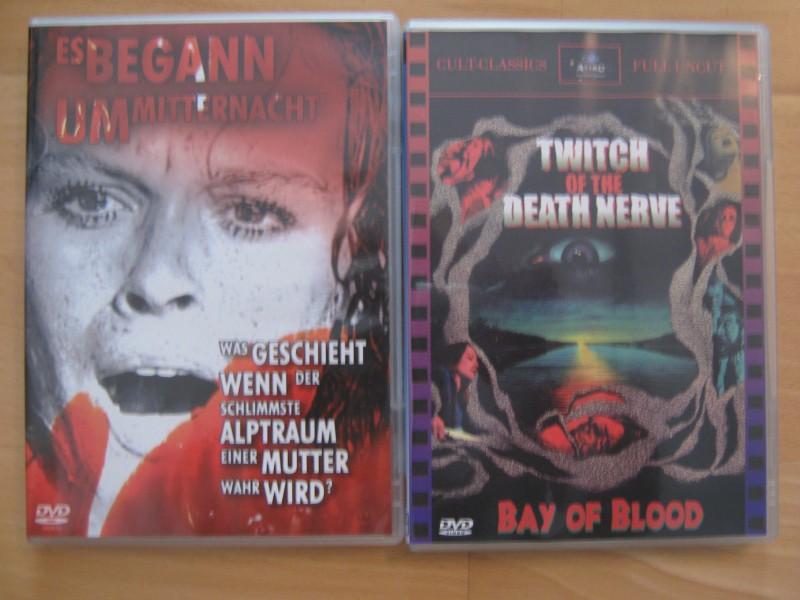 15er Italo DVD Paket - The Sect / Solange / Black Belly ...