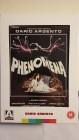 ++ PHENOMENA ++  UK-DVD - Top Zustand - Booklet, Poster