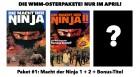 WMM Osterpaket: Macht der Ninja 1+2+Bonus (NEU) ab 1€
