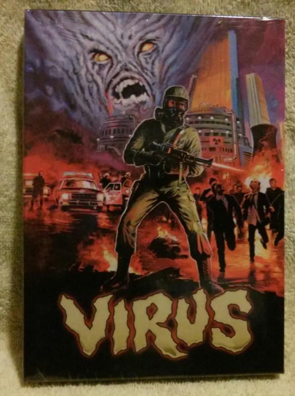 Virus Die Hölle der lebenden Toten DVD Uncut