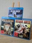 Blu-ray Paket: BLACK SHEEP + MEGA ALLIGATORS + KILLER ANTS