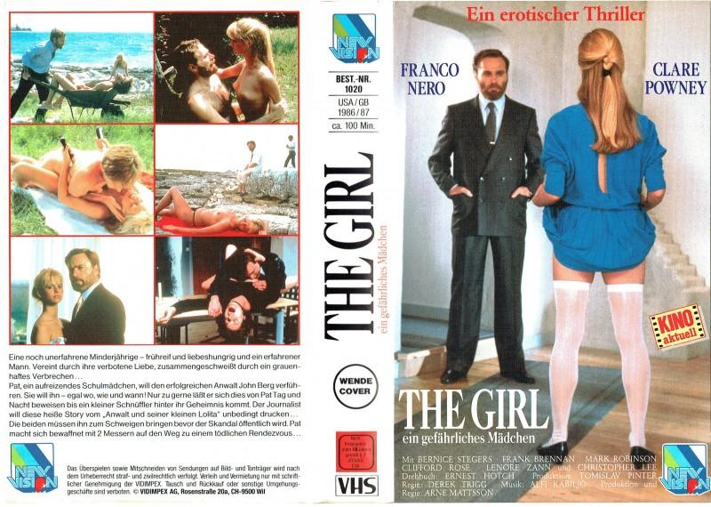 (VHS) The Girl - Ein gefährliches Mädchen - Franco Nero