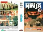 (VHS) Die Macht der Ninja - Starlight Video - Große Box