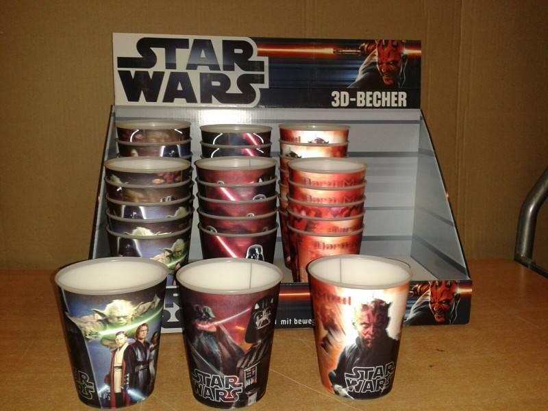 Star Wars in aller Munde wir haben noch die letzten Becher..