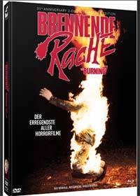 BURNING, THE - BRENNENDE RACHE Cover B - Mediabook