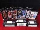 7x James Bond / Roger Moore / WARNER VHS / alte Edition