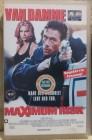 Maximum Risk van Damme VHS Uncut (D07)
