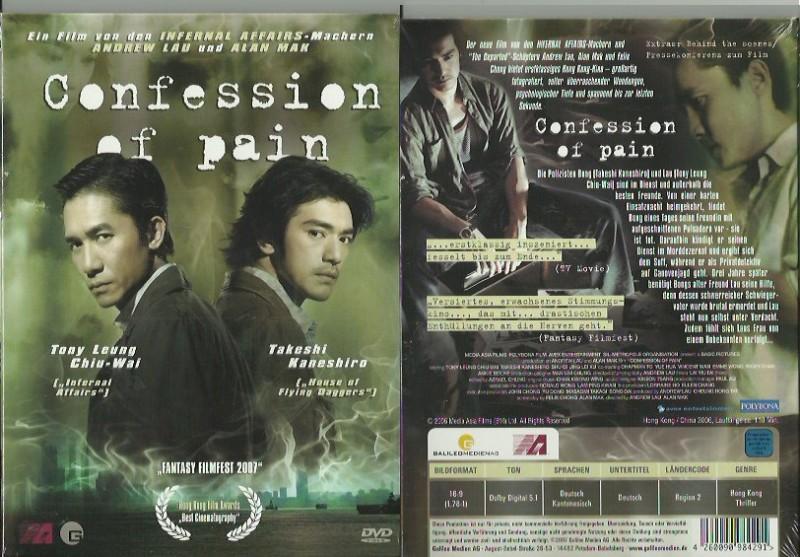 Confession of Pain - Digipack (4802512,NEU, !!AB 1 EURO !