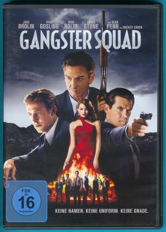 Gangster Squad DVD Josh Brolin, Ryan Gosling NEUWERTIG