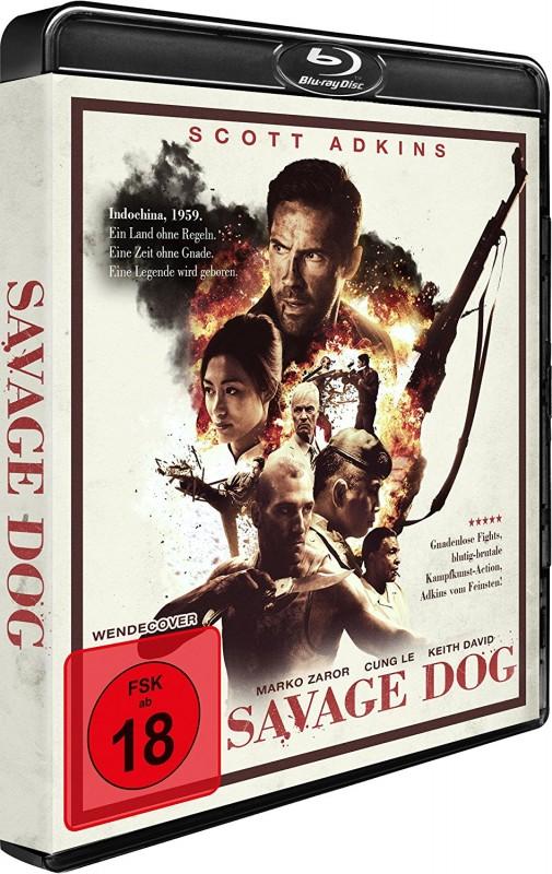 Savage Dog Scott Adkins Blu Ray