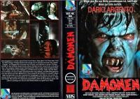 (VHS) Dämonen  - Produzent: Dario Argento - Große Box