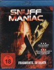 SNUFF MANIAC Blu-ray - klasse Horror Thriller FRAGMENTS