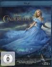 CINDERELLA Blu-ray - Disney Realverfilmung 2015 Lily James