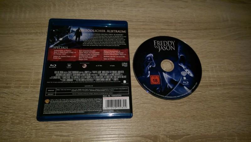 Freddy vs. Jason Blu Ray wie Neu