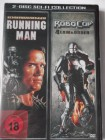 The Running Man - Arnold Schwarzenegger  & Robocop Law Order