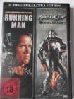 The Running Man - Arnold Schwarzenegger  & Robocop Law Order