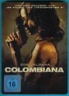 Colombiana DVD im Steelbook Zoe Saldana Disc fast NEUWERTIG
