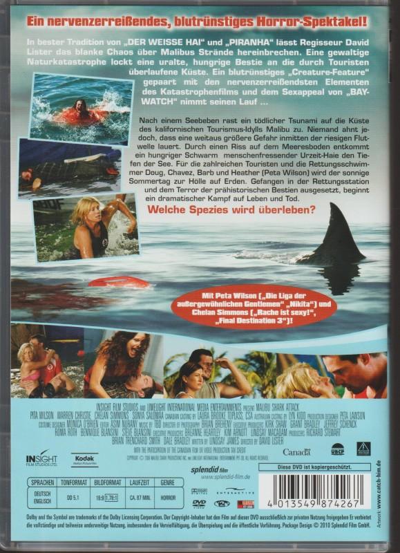 Shark Attack - Sie lauern in der Tiefe!  -  Top-Zustand