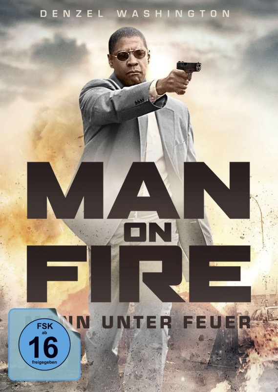 Man on Fire - DVD/Blu-ray Mediabook B white Lim 500 OVP