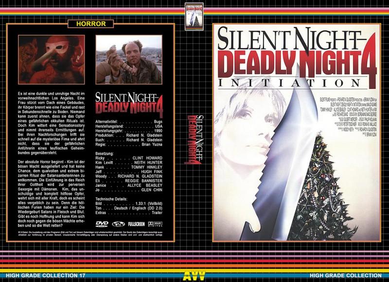 Silent Night Deadly Night 4 (Gr. Hartbox / HGC)  (NEU) ab 1€