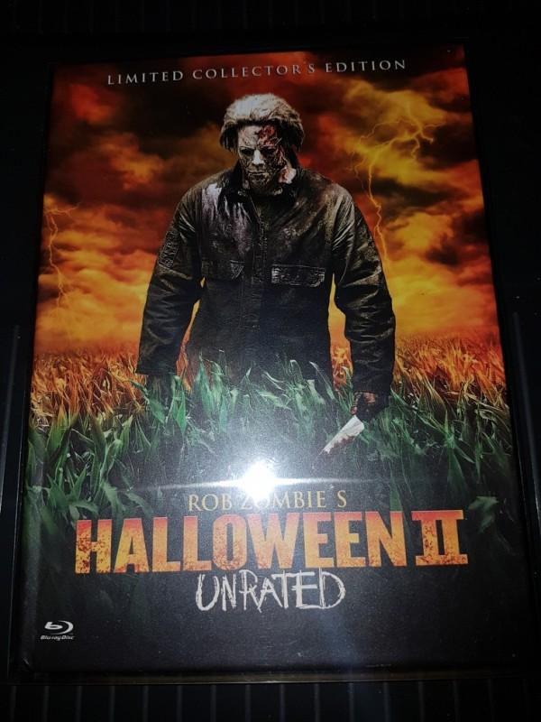 Halloween 2 Mediabook Rob Zombie