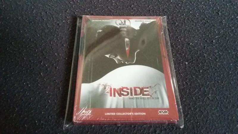 Inside - Was sie will ist in dir! Mediabook Cover B! OVP!