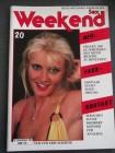 Weekend Sex - Nr.20 -  16.Jahrgang 1985***Neuwertig*******