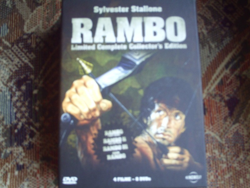 Rambo  - Stallone - Complete Collector´s Edition - 8 Disc