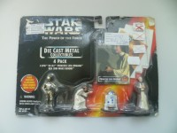 STAR WARS - .EPISODE 4-DIE CAST METAL COLLECTIBLES