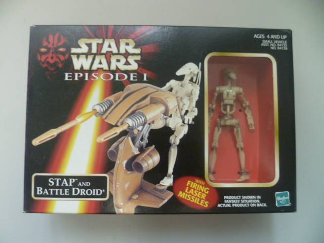STAR WARS - EPISODE 1 - STAP AND BATTLE DROID