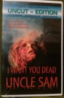 I want you dead Uncle Sam Uncut VHS William Lustig