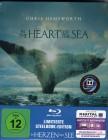 IM HERZEN DER SEE Blu-ray Steelbook limitiert Hemsworth